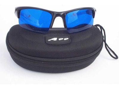 A99 Golf E-BW Golf Ball Finder Glasses with Moulded Case