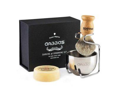 Anbbas Badger Hair Shaving Brush Kit