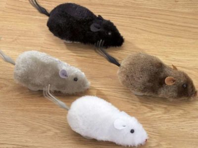 Bits and Pieces Wind Up Racing Mice