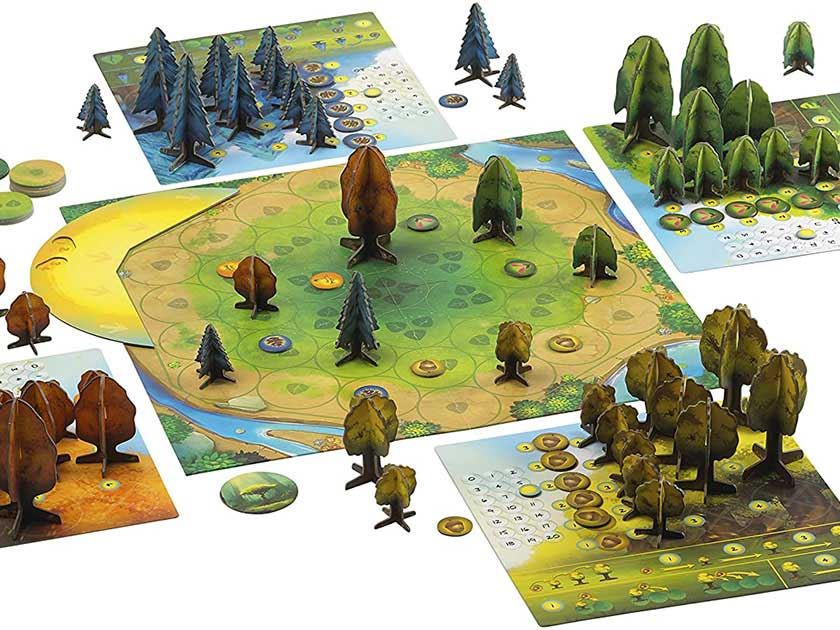 Blue Orange Games Photosynthesis Board Game