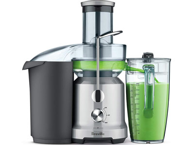 Breville Juice Fountain Cold (BJE430SIL)