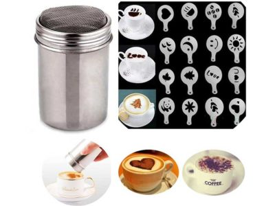 Buytra Stainless Steel Coffee Shaker Duster