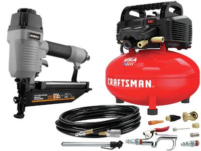 Craftsman CMEC6150K w/ Nail Gun