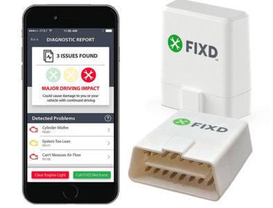 FIXD car Diagnostics