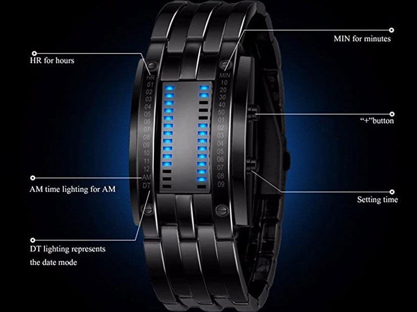 Fanmis Digital Watch