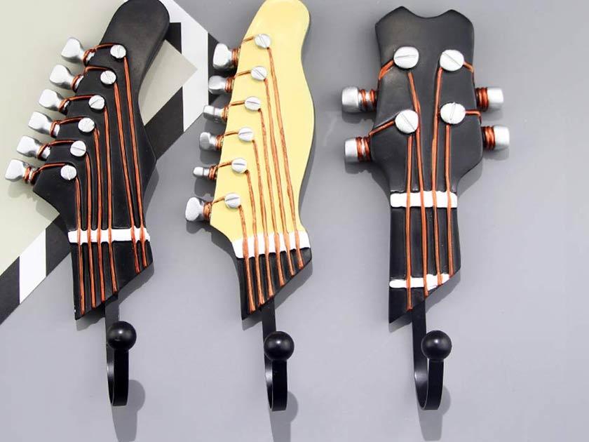 KUNGYO Vintage Guitar Shaped Hooks