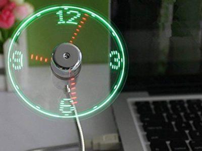 ONXE LED clock Fan