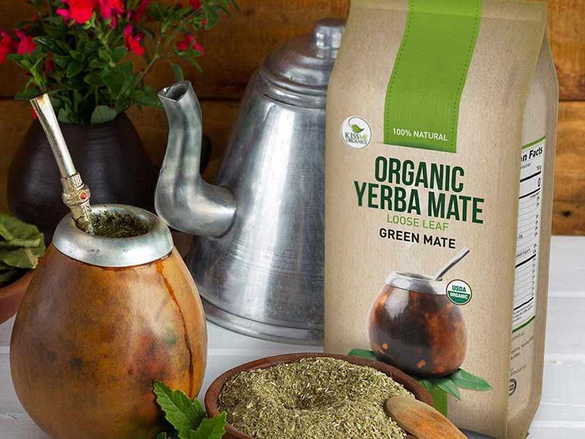 Organic Yerba Mate Loose Leaf Tea