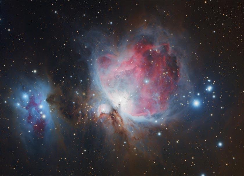 Orion Nebula DSLR image