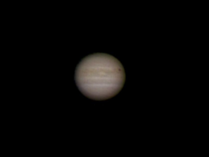 Multi-exposure image of Jupiter