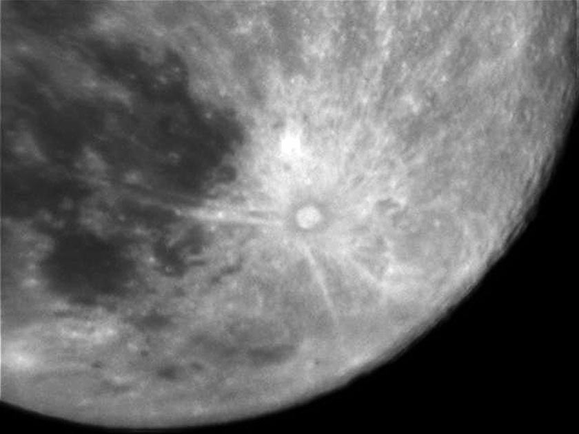 The Tycho crater as seen through the 127EQ