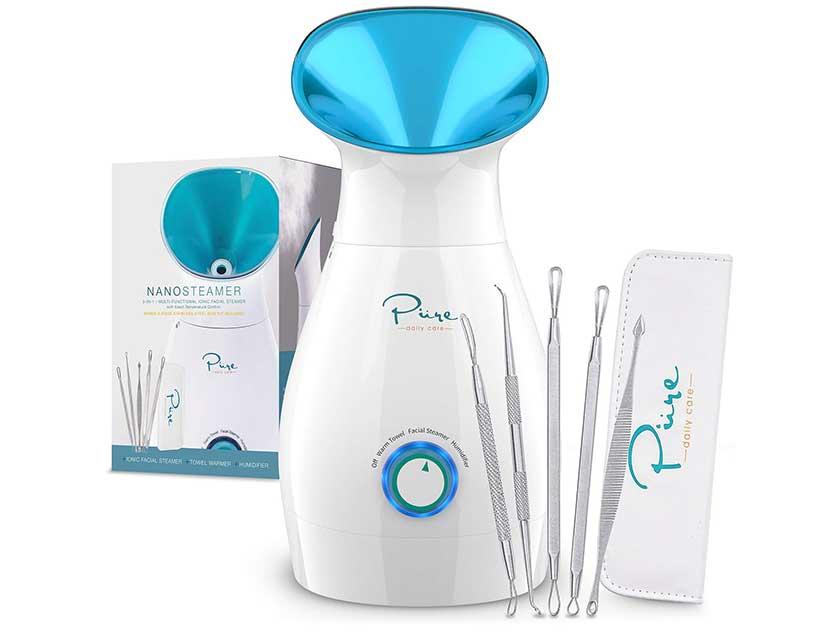 Pure Daily Care NanoSteamer 3 in 1 Nano Ionic Facial Steamer
