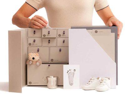 Savor Baby Keepsake Box and Memory Organizer