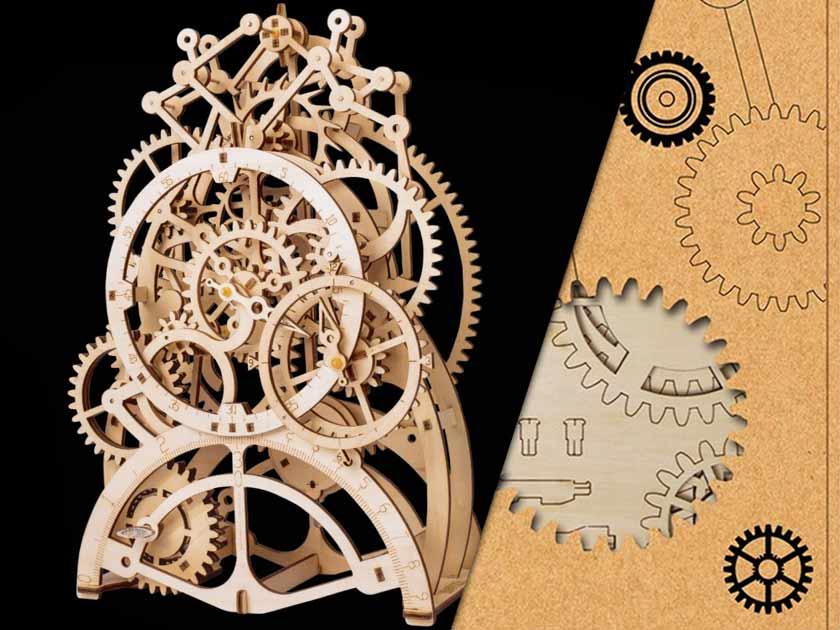 Self Assembly Clock