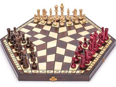 Three Player Chess Board