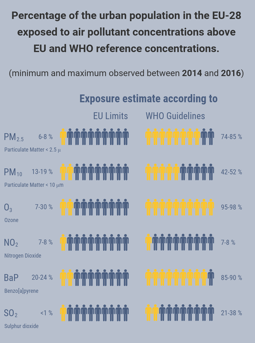 Urban Air Pollution Exposure