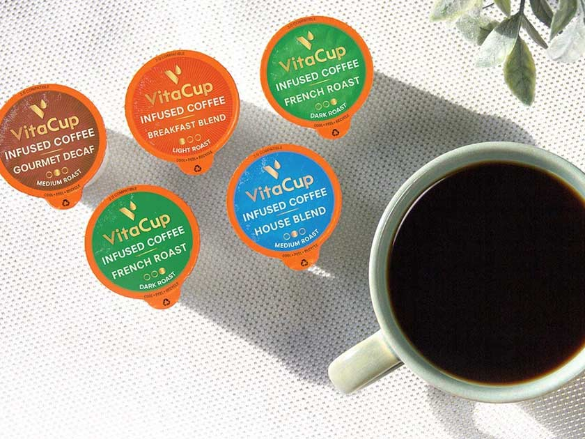 VitaCup Vitamin Coffee Cups