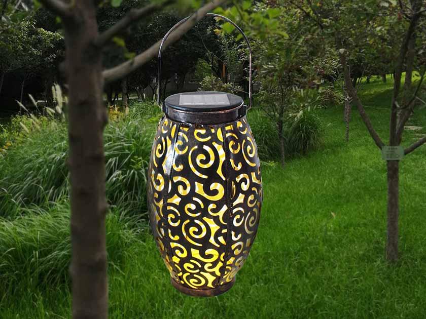 YiaMia Outdoor Solar LED Lantern