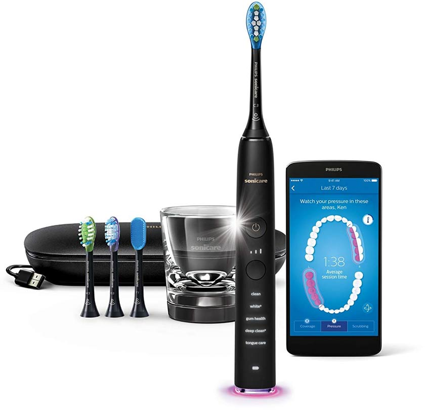 electric toothbrush with all the bells and whistles