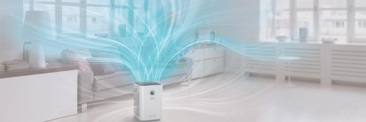 airflow of air purifier