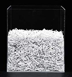 paper treated by cross-cut shredder