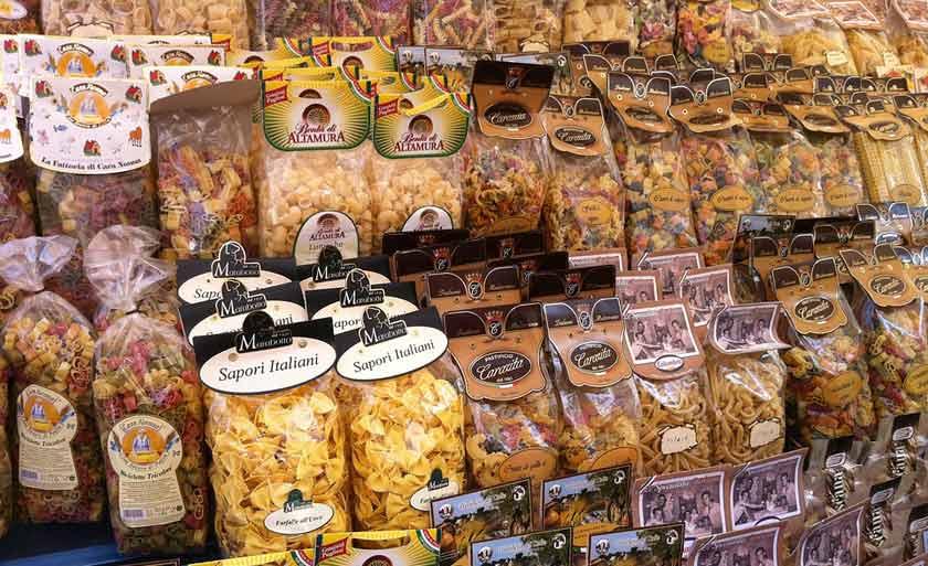 types of dry pasta
