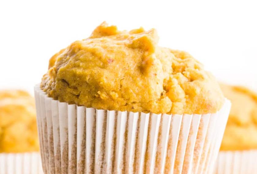 nut butter muffin