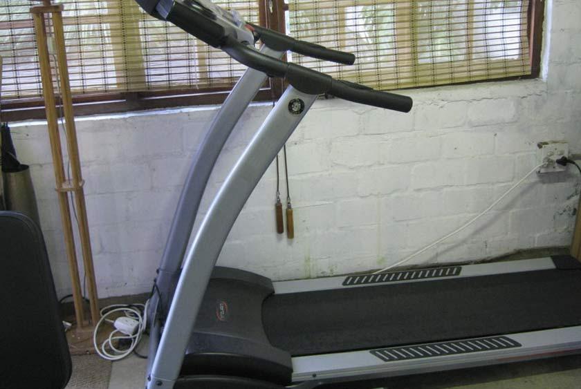 old unused treadmill