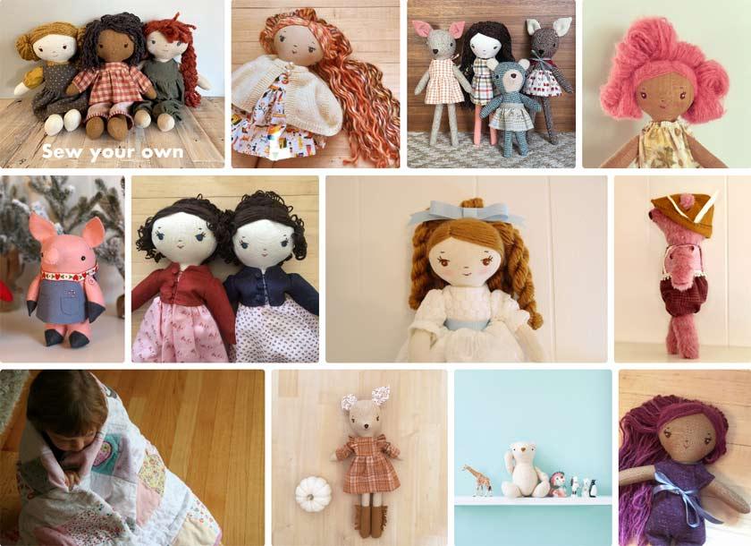 sew it yourself dolls