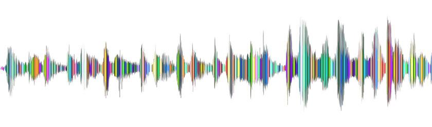 visual representation of a soundwave
