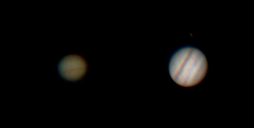 Jupiter through the StarBlast 4.5 and 6