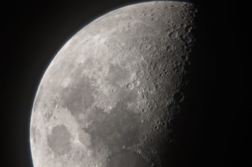moon through an Orion StarBlast