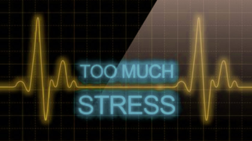 influence of stress on heart rate