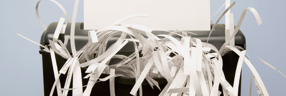 Strip Cut Paper Shredder