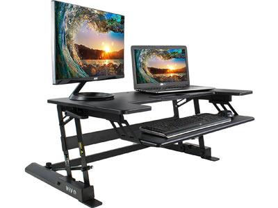 VIVO Adjustable Tabletop Workstation